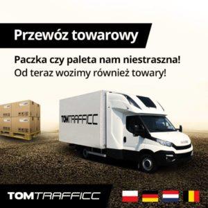Transport towarów i paczek Polska Niemcy Holandia Belgia
