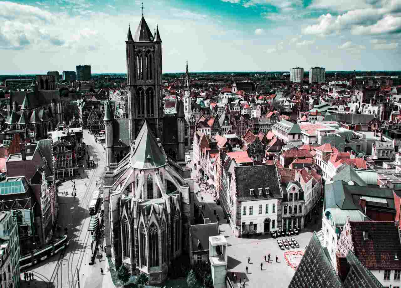 Przewozy osobowe Belgia
